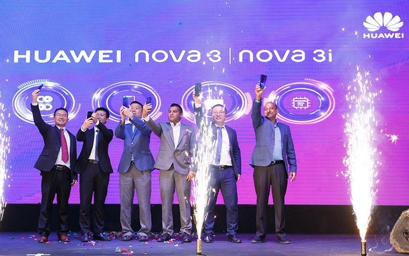Huawei Launched Nova with 24 AI camera Phone in Nepal - Aarthiknews